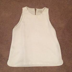 Loft cream sleeveless shell Size MP